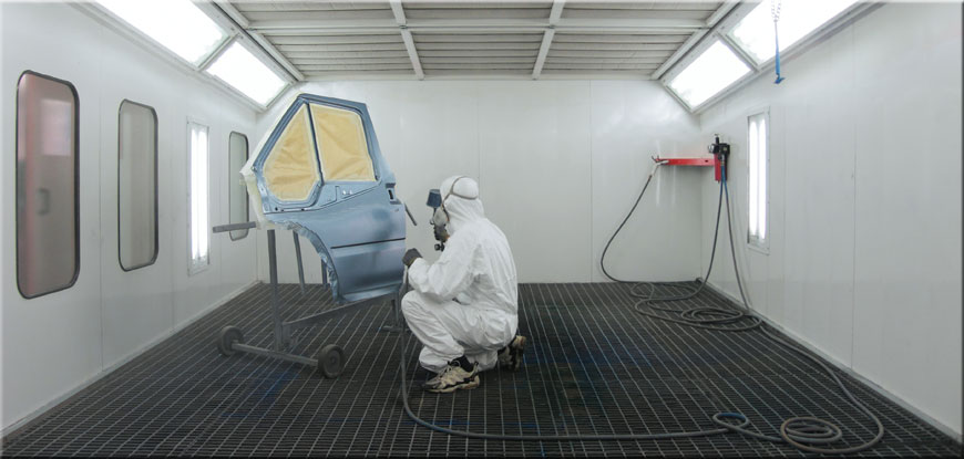 Auto paint booth equipment leasing strada capital for Automotive paint suppliers